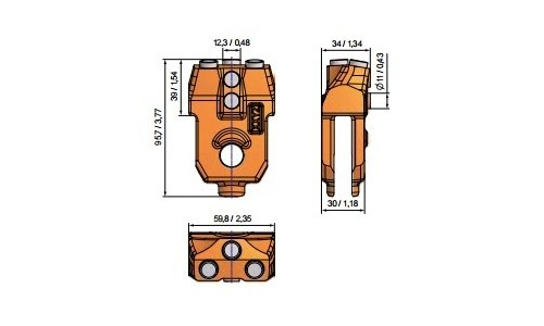 for wall thickness 30mm